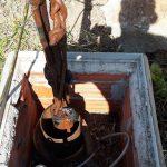 estrazione pompa danneggiata